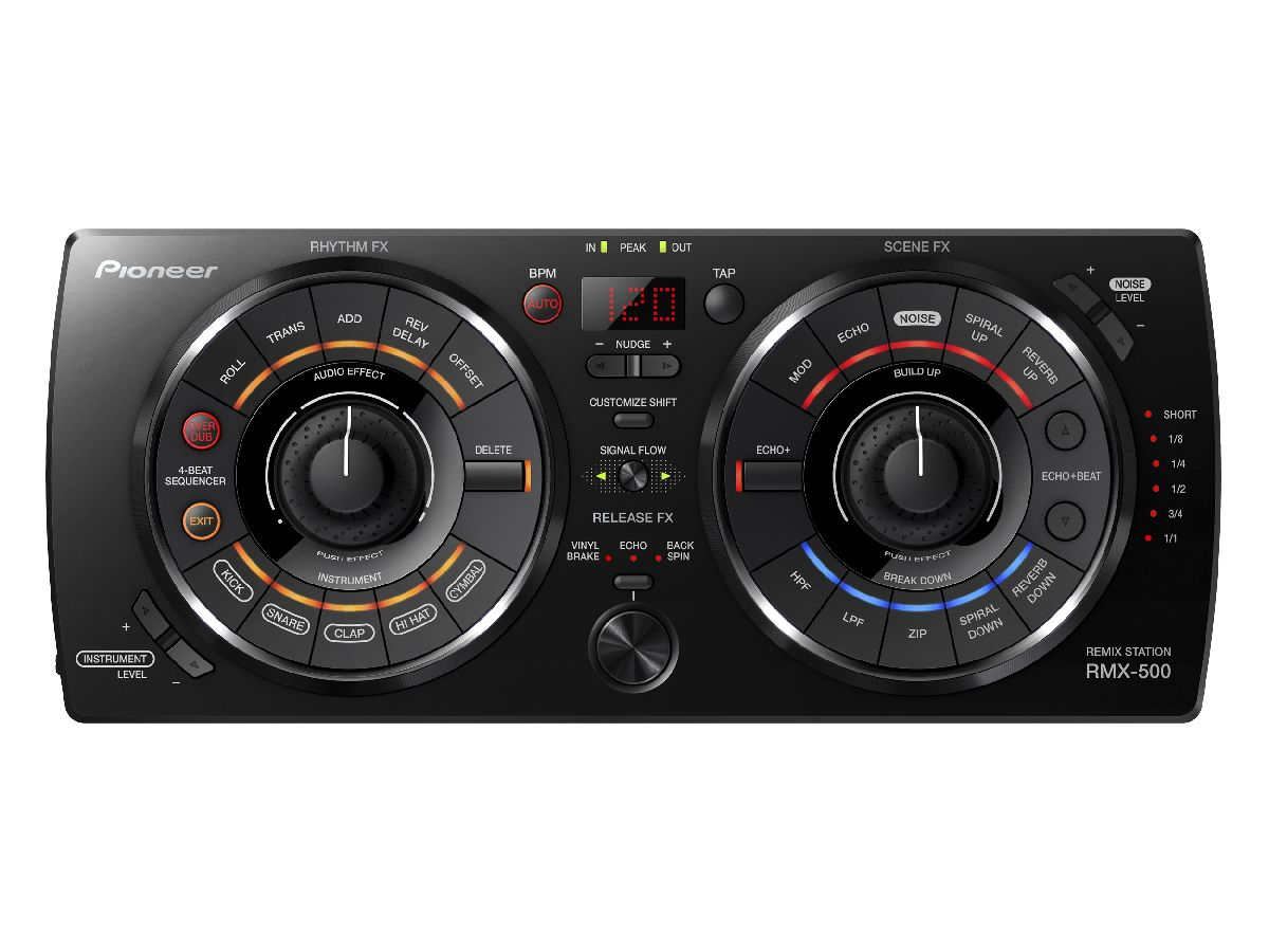 Pioneer RMX-500 – give a little effect