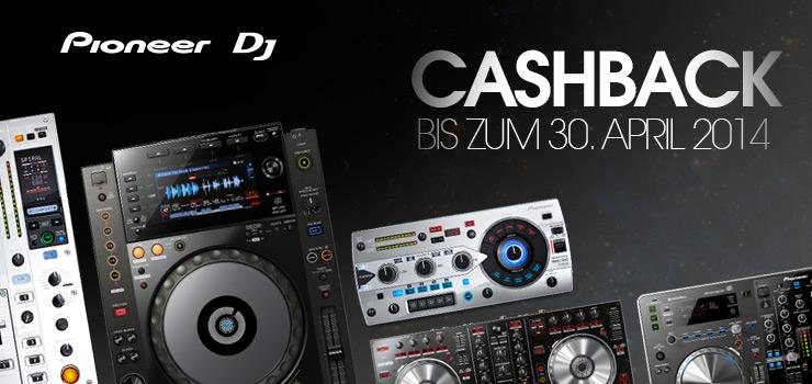 Pioneer DJ Frühlings-Cashback Aktion