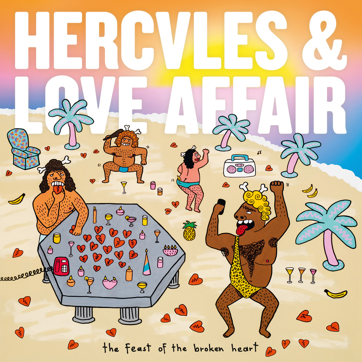 "Hercules and Love Affair veröffentlichen ""The Feast Of The Broken Heart"""