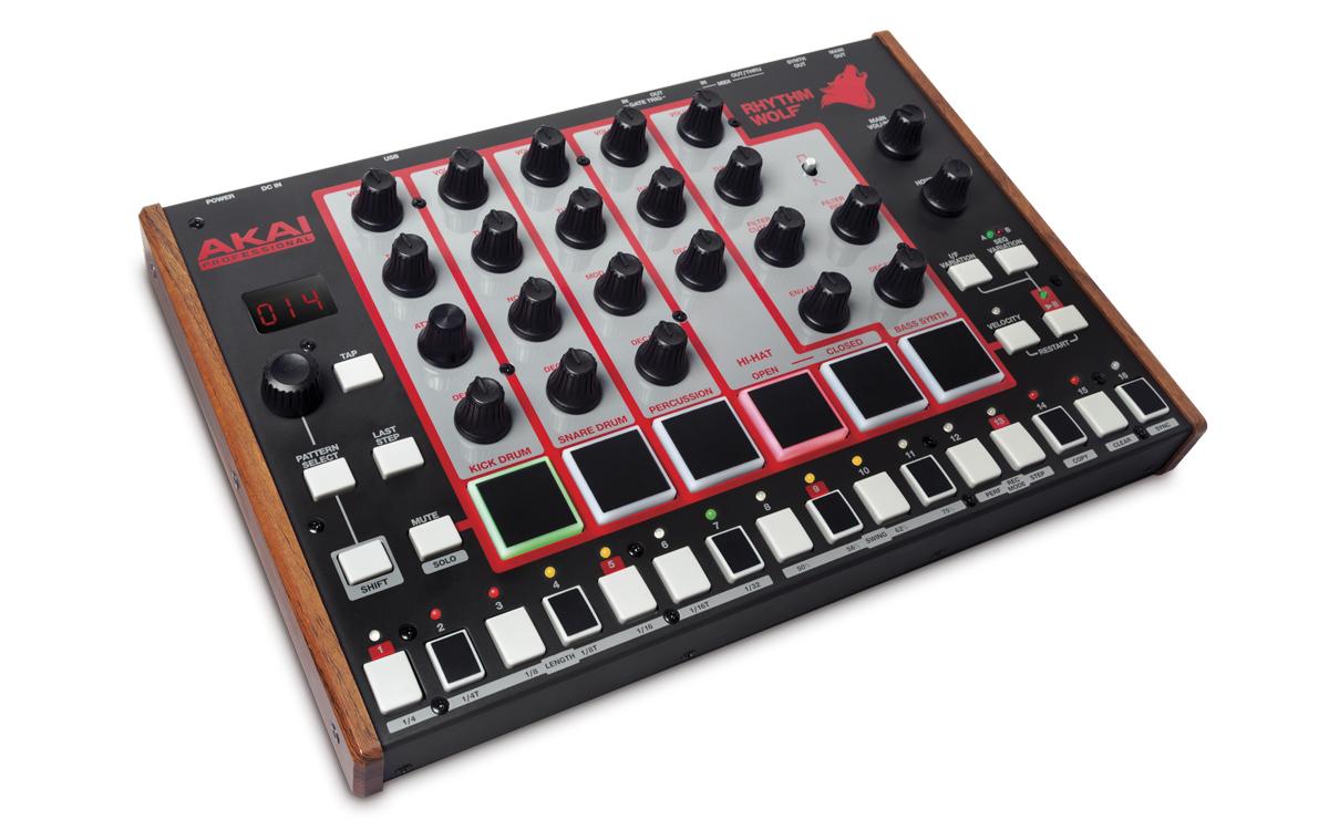Akai präsentiert den Rhythm Wolf: analoge Drummachine mit Synthesizer