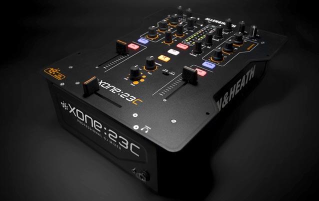 Allen & Heath Xone:23C – 2-Channel Mixer + Soundcard