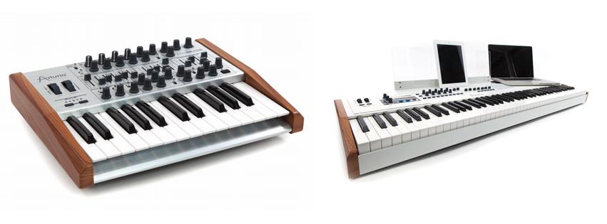 Arturia kommt mit Synthesizer-Update und neuem Keyboard
