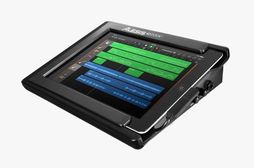 iO Dock II – Alesis präsentiert mobile Studioumgebung fürs iPad