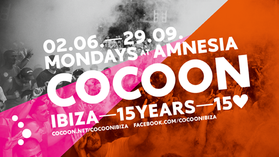 Cocoon Ibiza – Sweet 15 – Hier ist das Opening Line-up