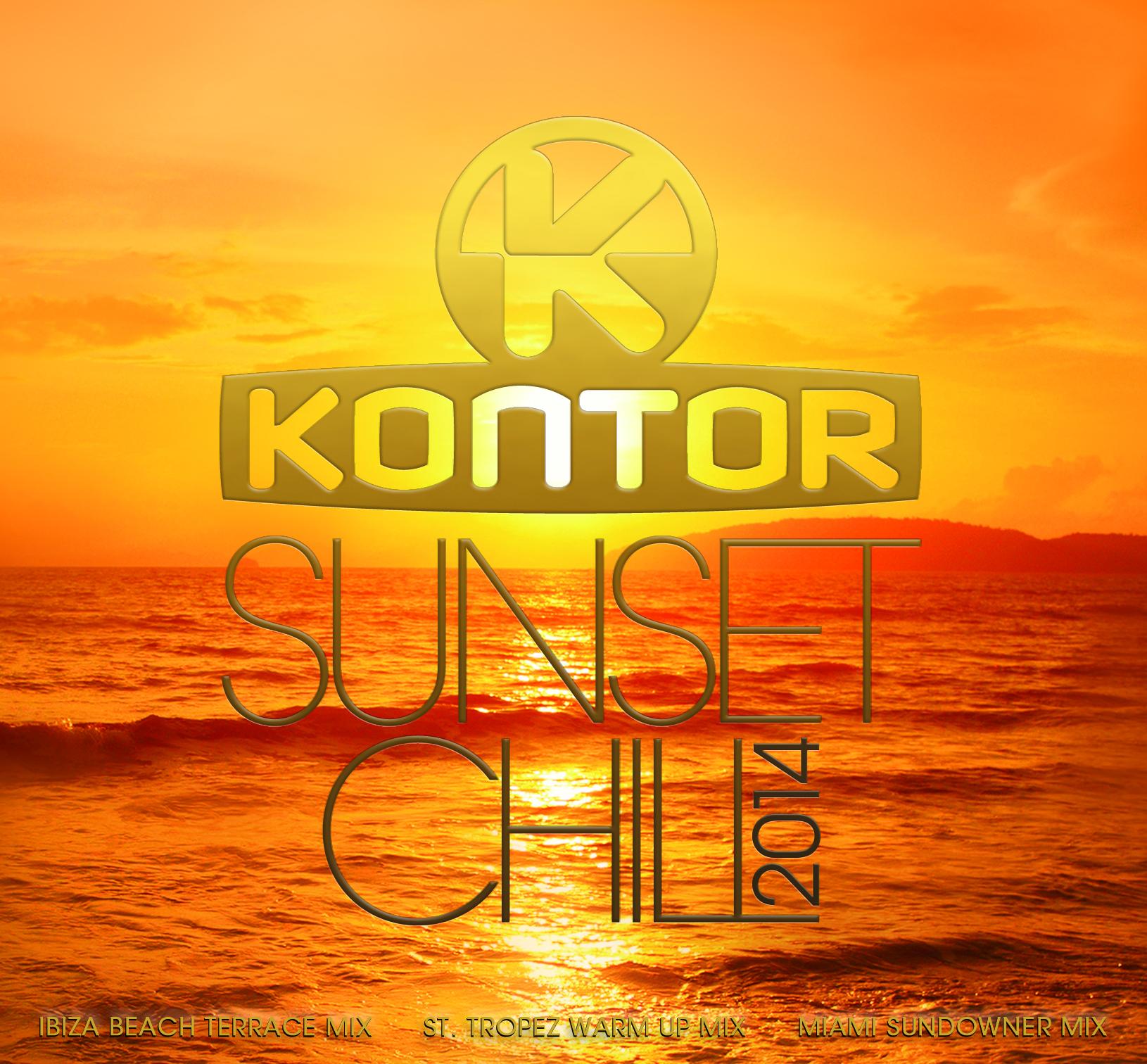 """Mit der neuen """"Kontor Sunset Chill 2014"""" geht es in den Sommer"""