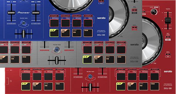 Pioneer DDJ-SB: ab Mitte Juni in drei neuen Farben