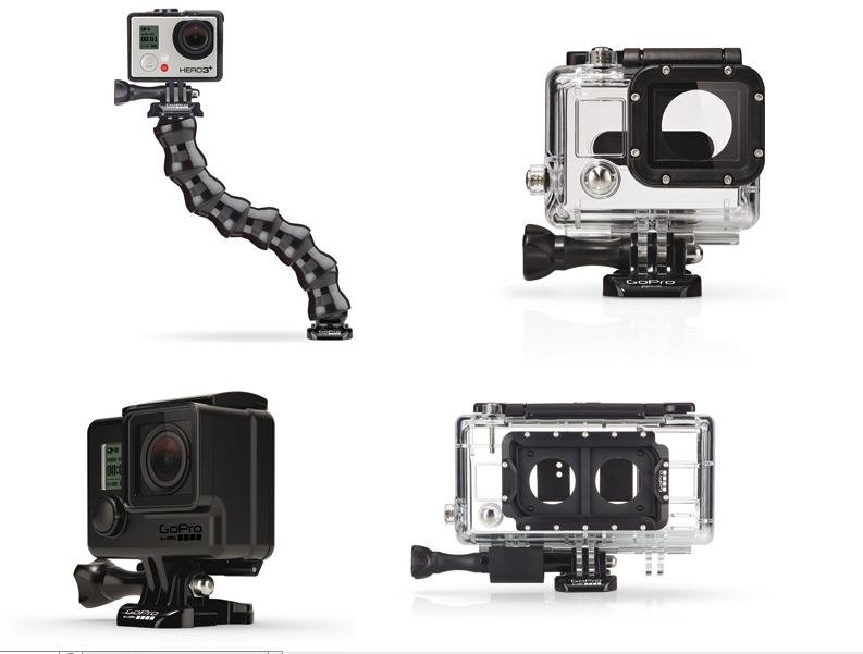 Neues Zubehör für die GoPro Hero3+