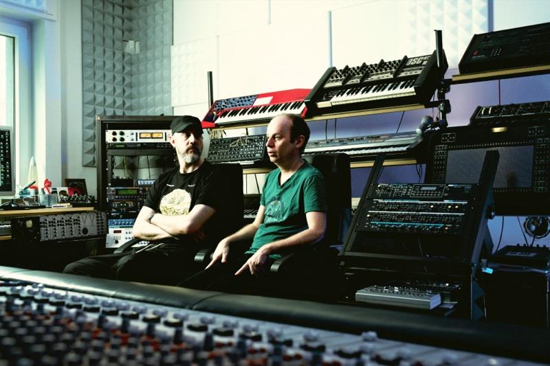 Im Studio mit Hardfloor
