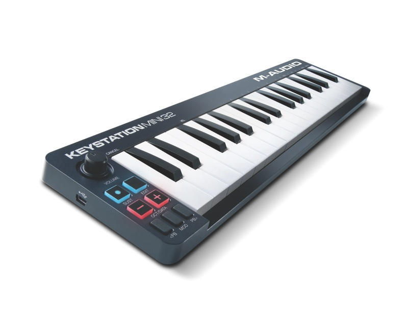 M-AUDIO liefert Keystation MKII Serie aus (Mini 32, 49, 61 & 88)