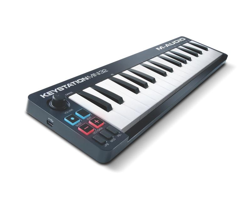M-AUDIO liefert Keystation MKII Serie aus (Mini 32, 49, 61 & 88)
