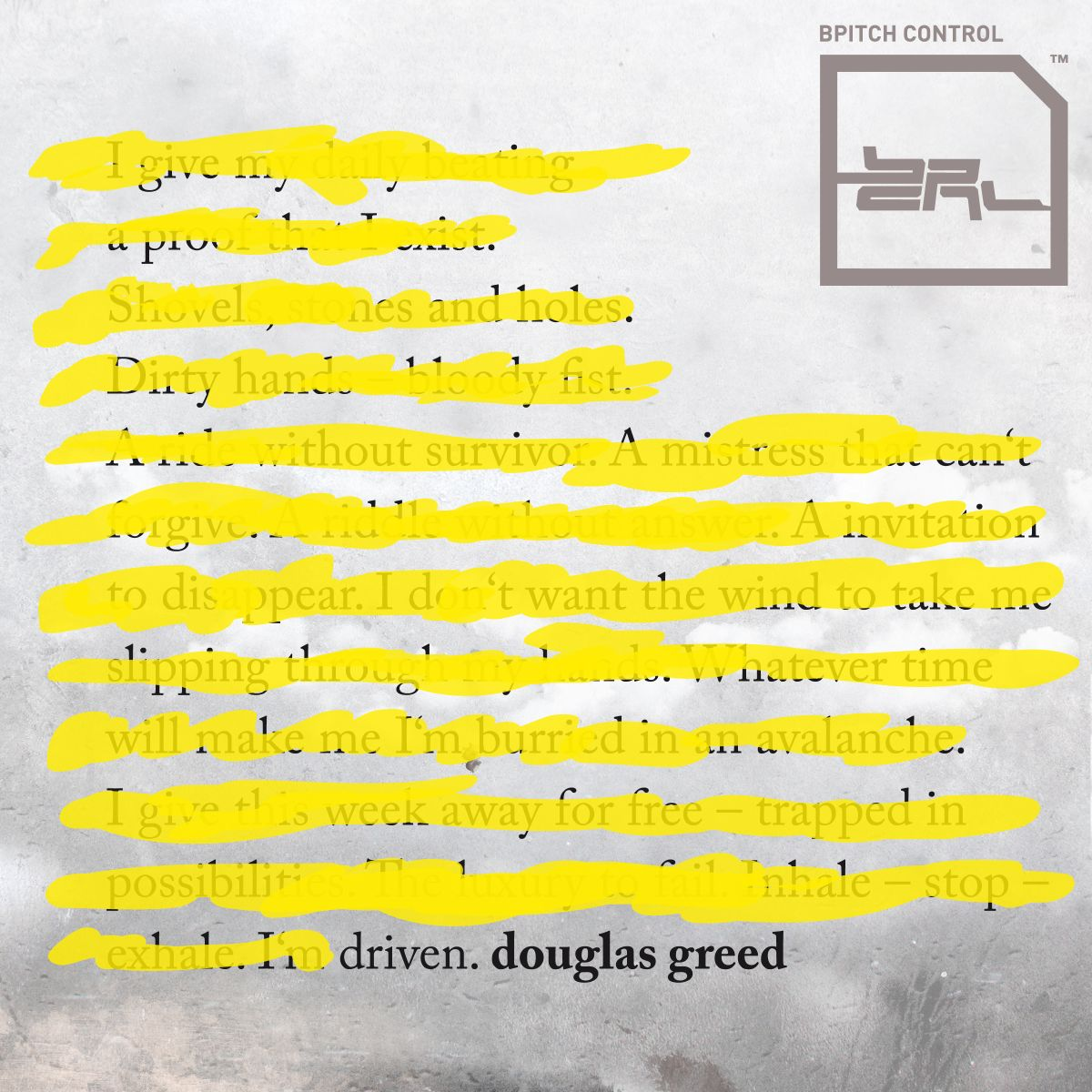 """Douglas Greed präsentiert """"Driven""""-Remixe"""