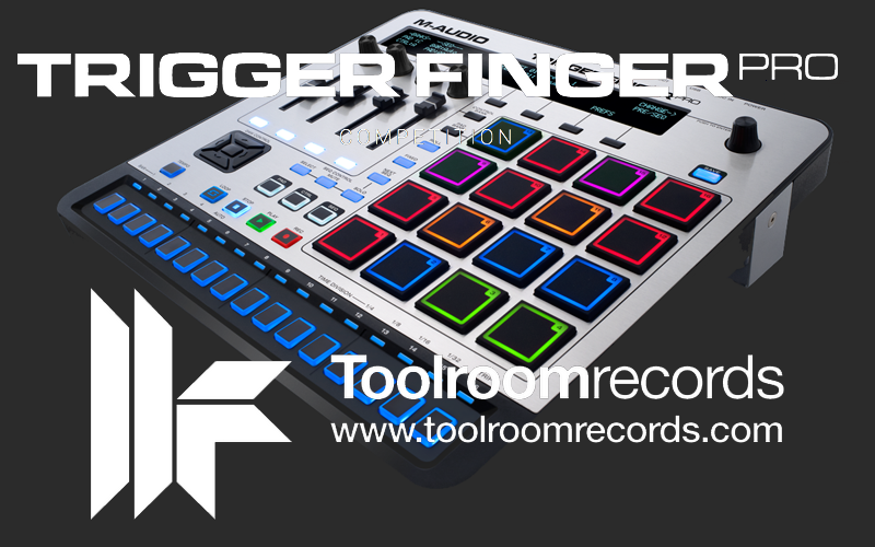 M-Audio & Toolroom Records präsentieren Trigger Finger Pro-Remixwettbewerb