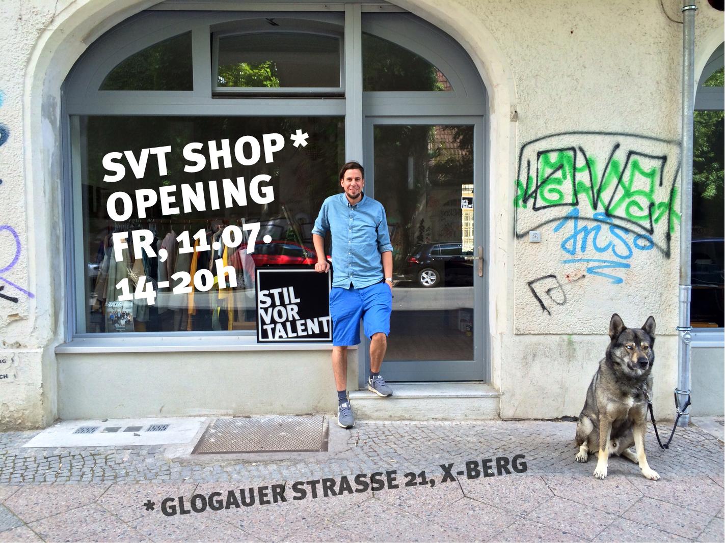 Stil vor Talent eröffnet Shop in Berlin