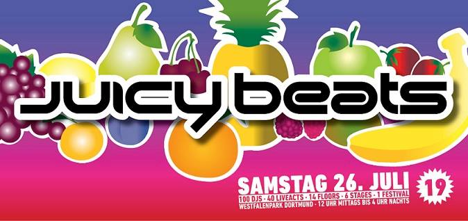 Juicy Beats 19 – wir verlosen 2 x 2 Tickets!
