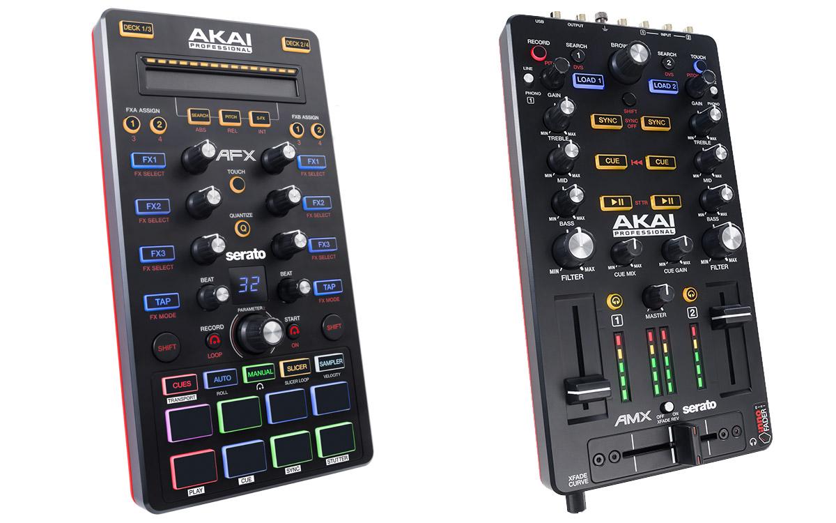 Akai präsentiert modulare Controller für Serato: AMX & AFX