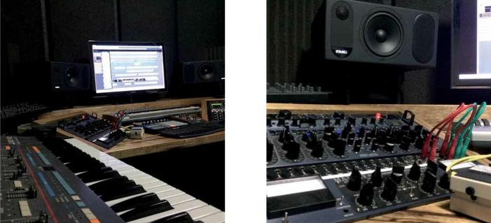 Im Studio mit Shlomi Aber – Cubase im Zentrum & satt Analoges drumherum