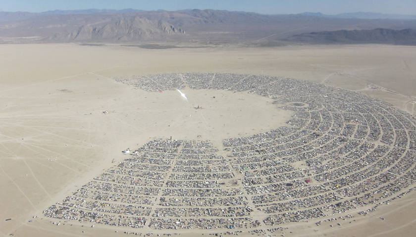 Burning Man: abgesoffen, Start verschoben