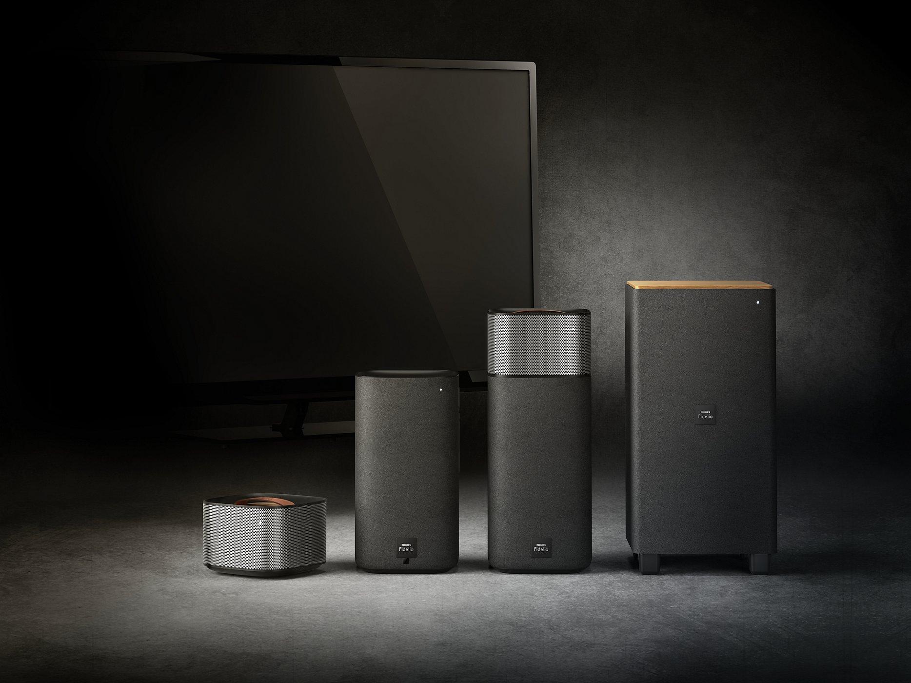 Philips Fidelio E5 – das flexible Heimkino