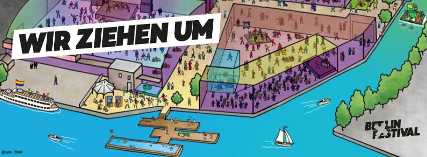 Das Berlin Festival zieht um!