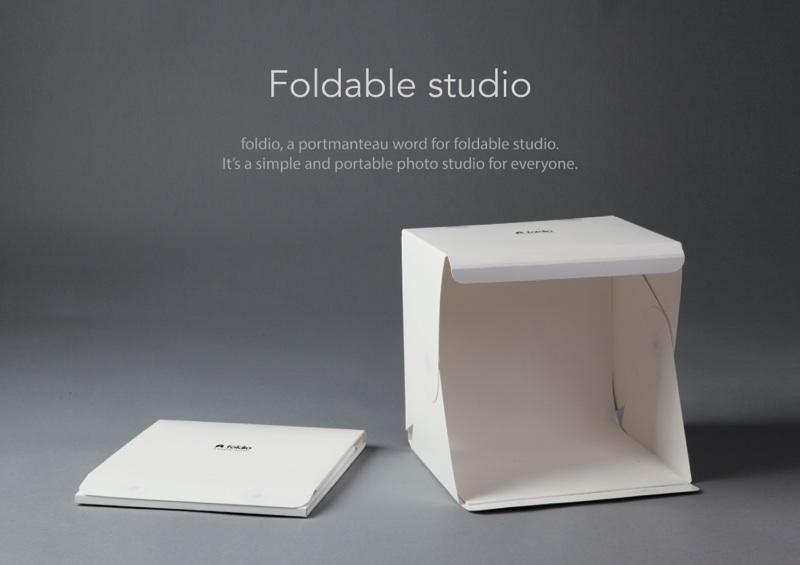 Foldio – Dein faltbares Fotostudio