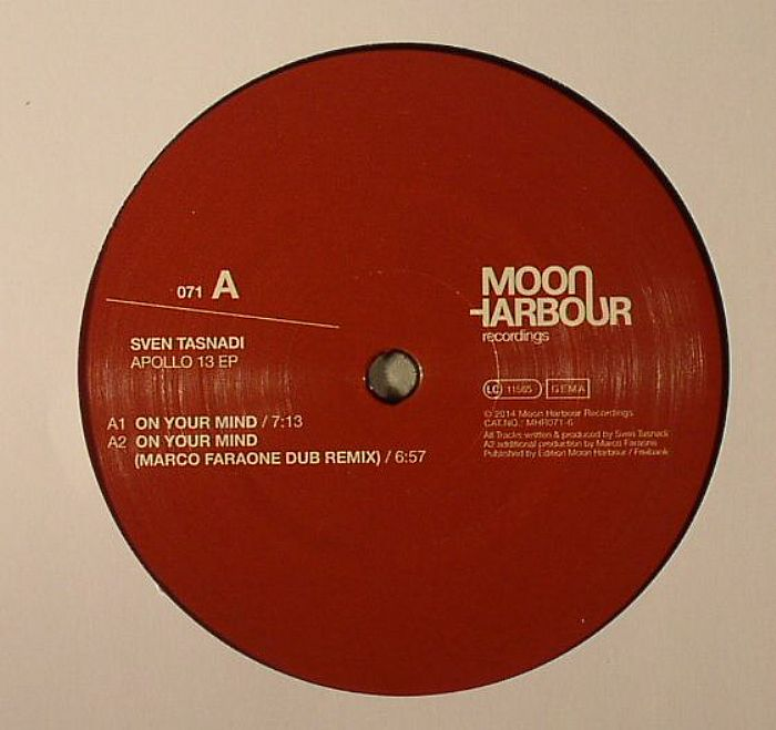 Sven Tasnadi – Apollo 13 EP (Moon Harbour)
