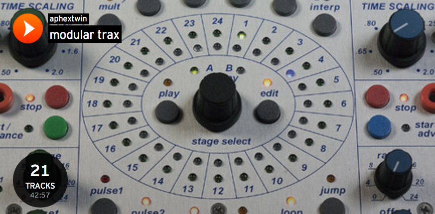 Aphex Twin schüttet sein Füllhorn via SoundCloud aus