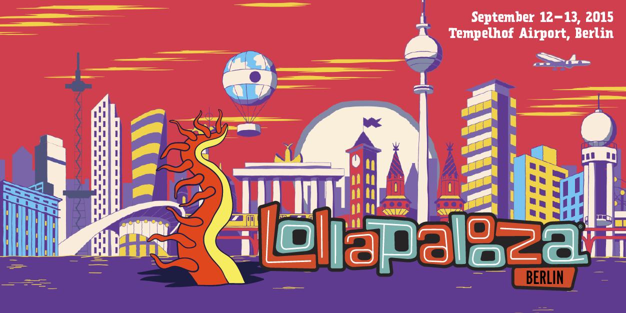 Das Lollapalooza findet seinen Weg nach Deutschland