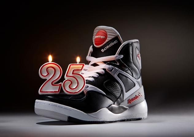 """Reebok feiert 25. Geburtstag von """"The Pump"""""""