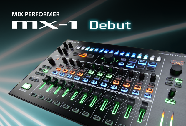 Der Neue in der Roland AIRA-Familie: MX-1 Mix Performer