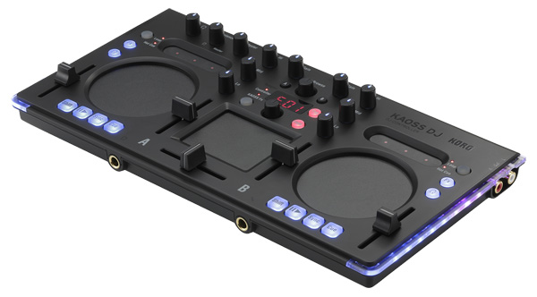 """Korg zeigt ersten Controller """"Kaoss DJ"""""""