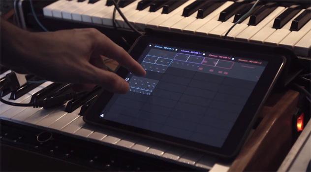 Auxy – neue Version mit MIDI-Sync