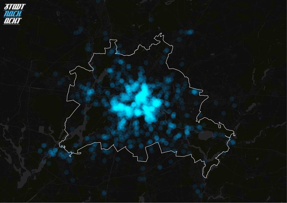 Stadtnachacht – Stadtplanung im Dunkeln