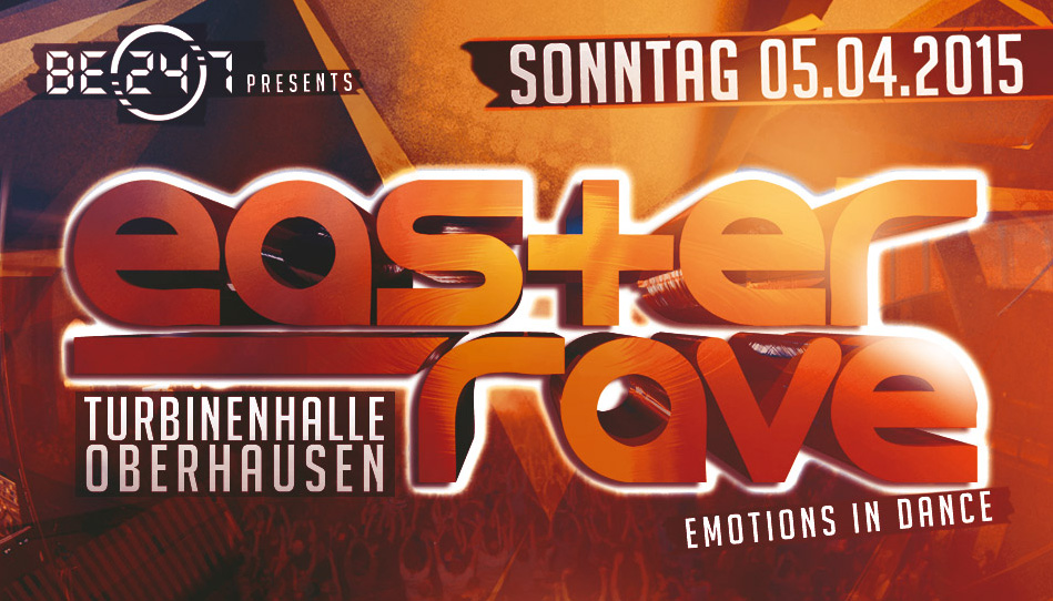 Easter Rave 2015 – 40 Acts feiern mit euch Ostern