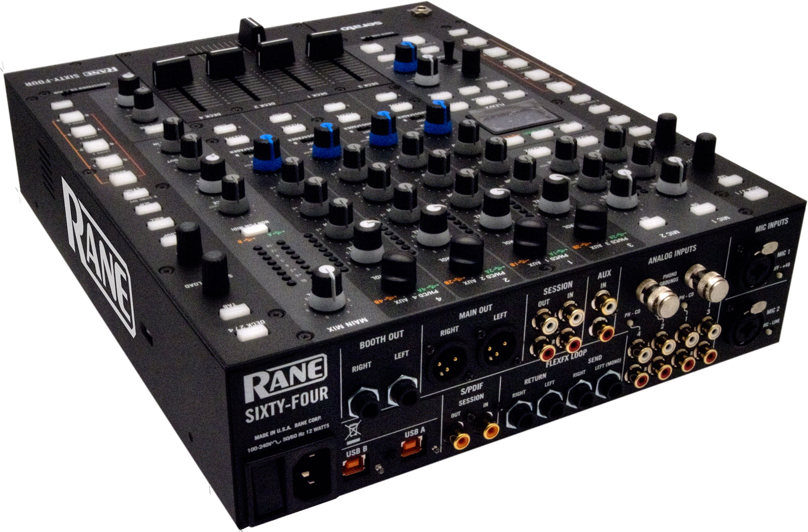Rane Sixty Four Serato DJ – Systemrelevant