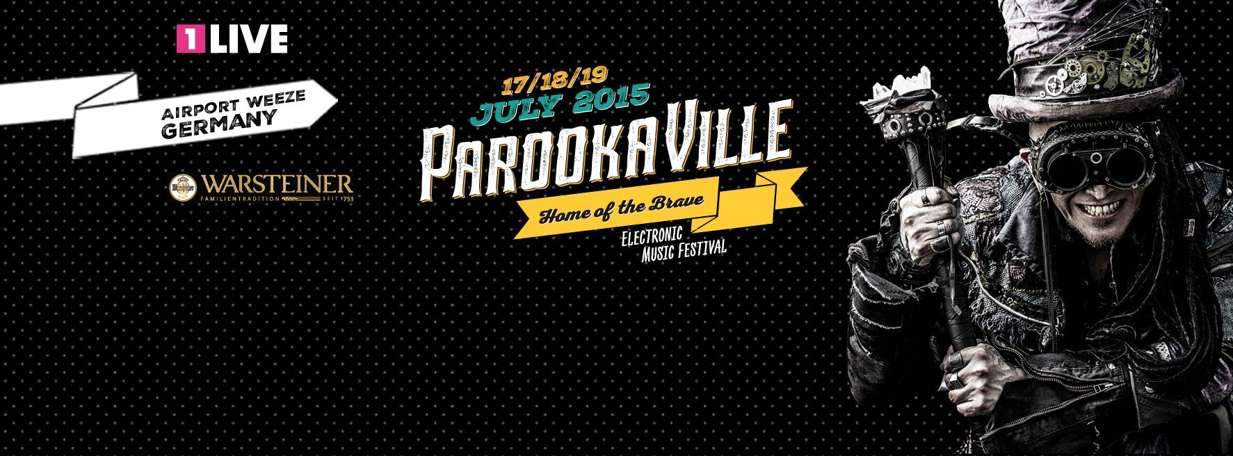 PAROOKAVILLE: erste Acts und Pläne