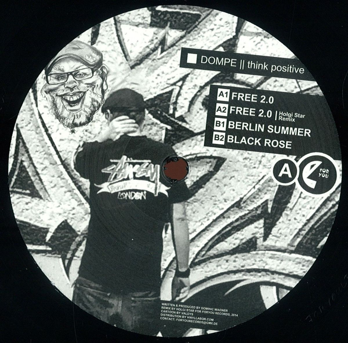 Dompe – Think Positive (For You ltd. 10)