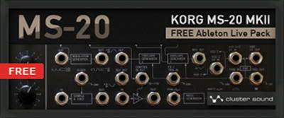 Korg MS-20 Live Pack für Ableton – gratis!