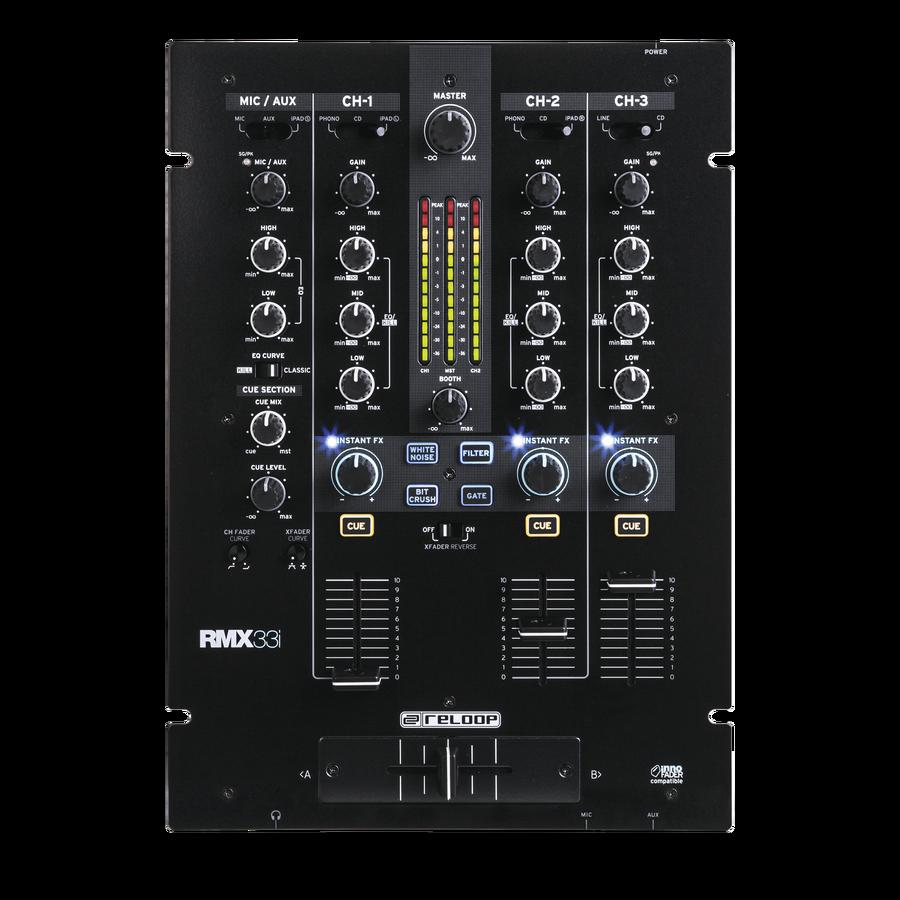 Reloop präsentiert die neuen Mixer der RMX-Reihe