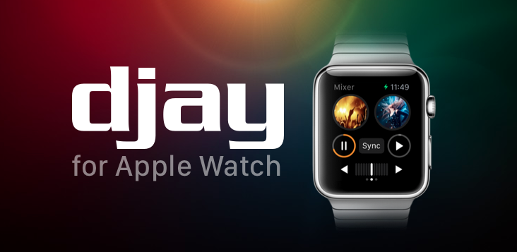 "Die Apple Watch als DJ-Pult – dank ""djay"""
