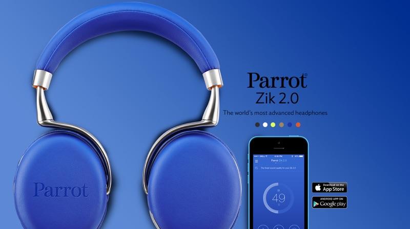 Parrot Zik 2.0 – Starckes Stück