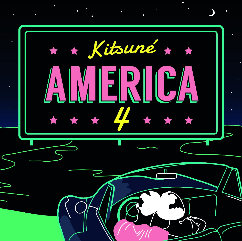 """Kitsuné America 4"" erscheint Ende Mai"