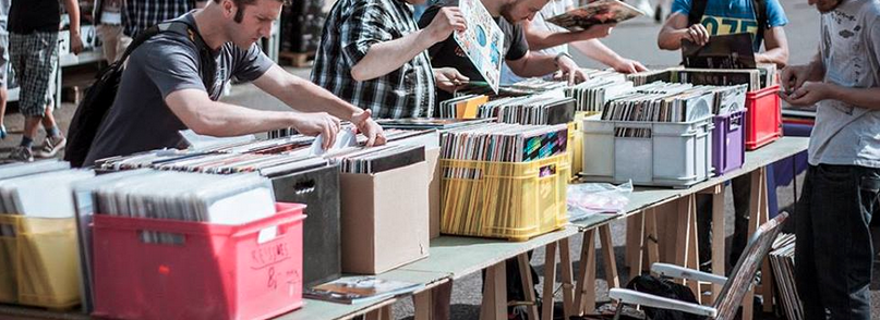 Alle Jahre wieder – Elevator DJ Flohmarkt