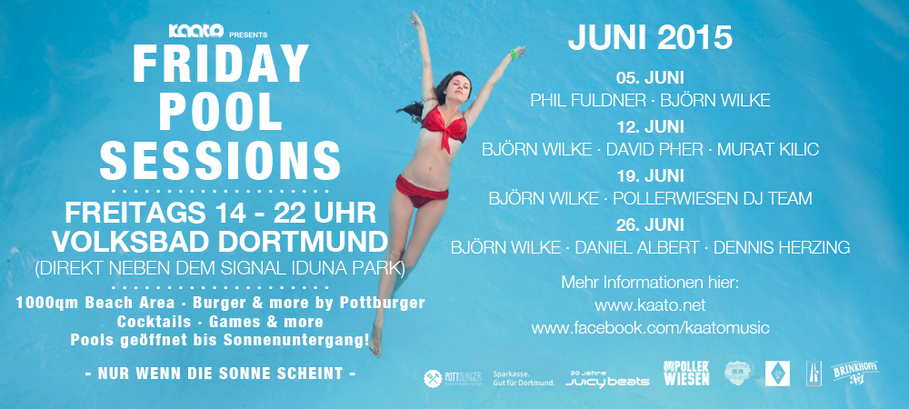 Friday Pool Sessions – abtauchen mit Musik
