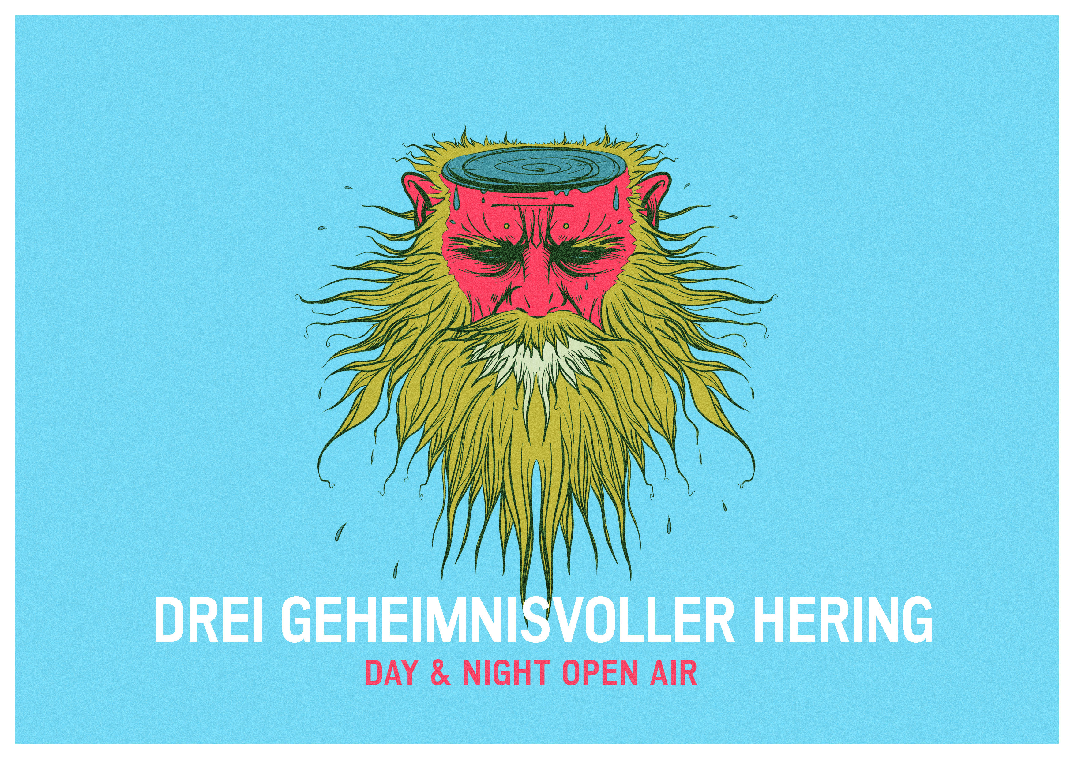 Drei Geheimnisvoller Hering – das Day and Night Open Air in Essen