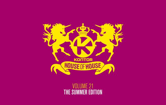 """Kontor präsentiert """"House Of House Vol. 21 – The Summer Edition"""""""