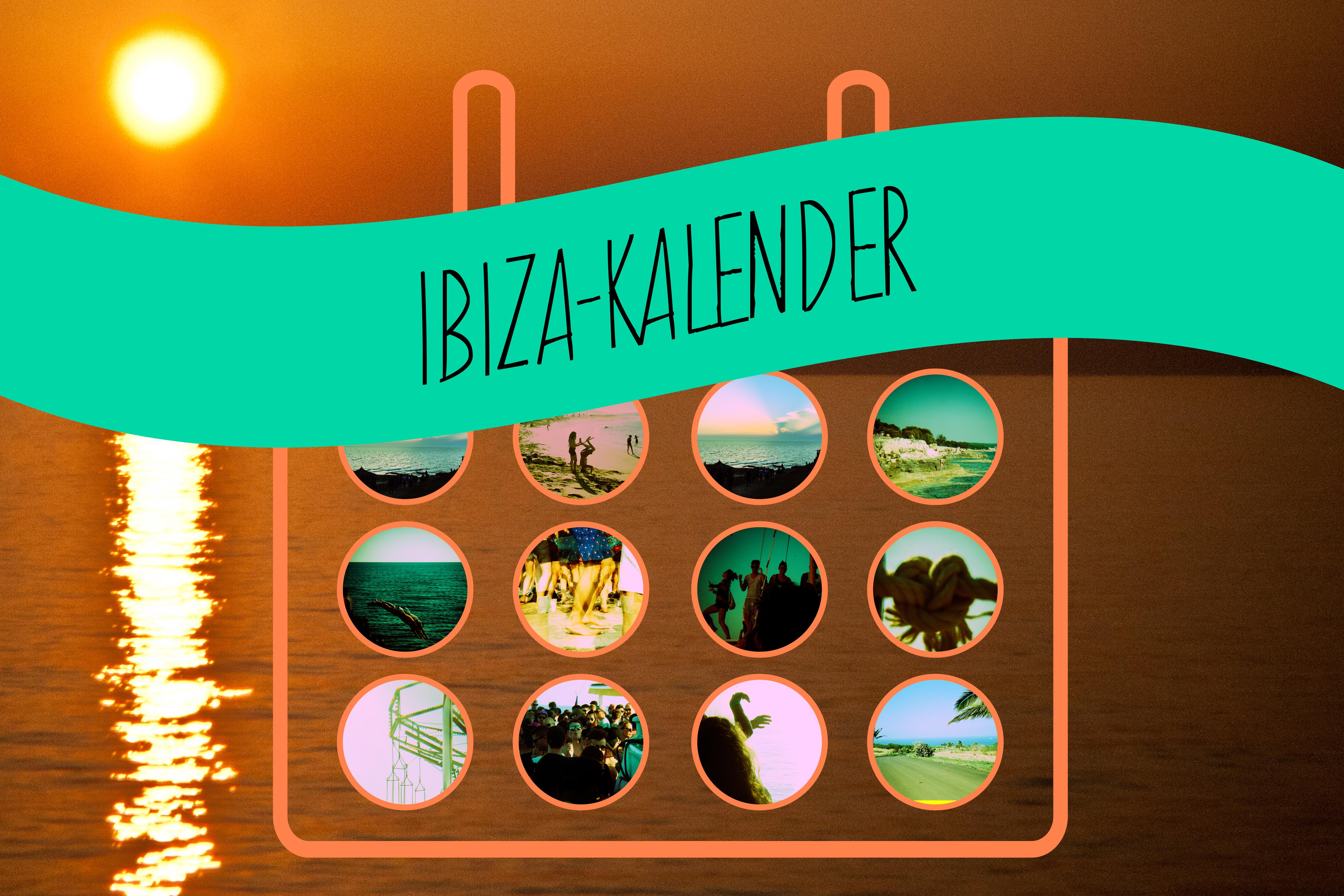 Ibiza-Kalender 2015