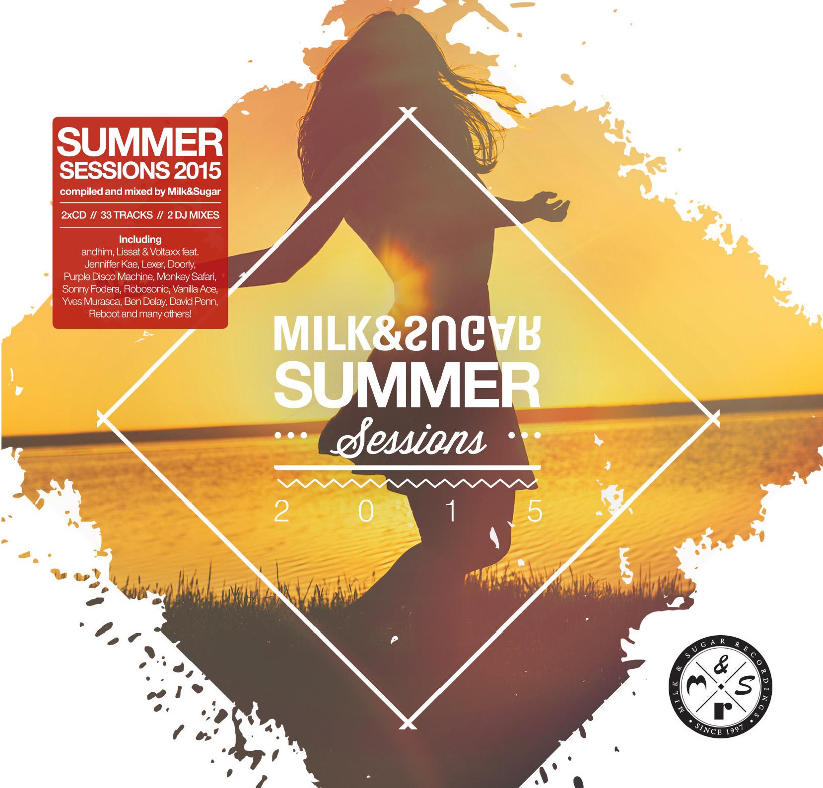 """Milk & Sugar präsentieren ihre """"Summer Sessions 2015"""""""