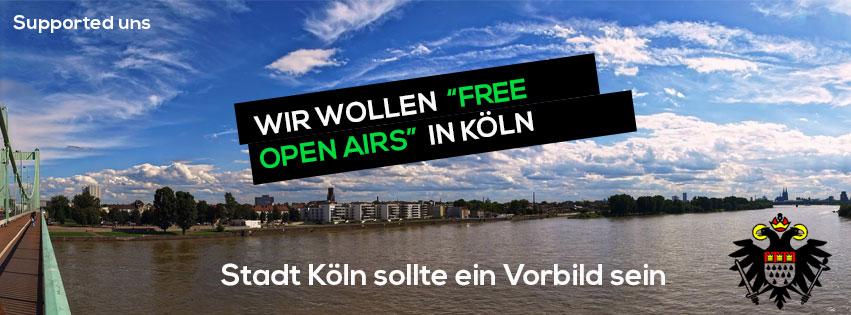 Gemeinschaft will freie Open Air-Flächen in Köln – macht das Sinn?