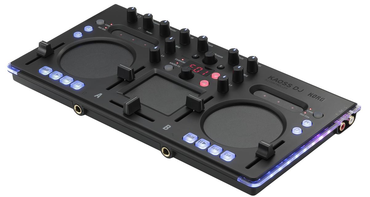 Korg Kaoss DJ – klein, schwarz, stark