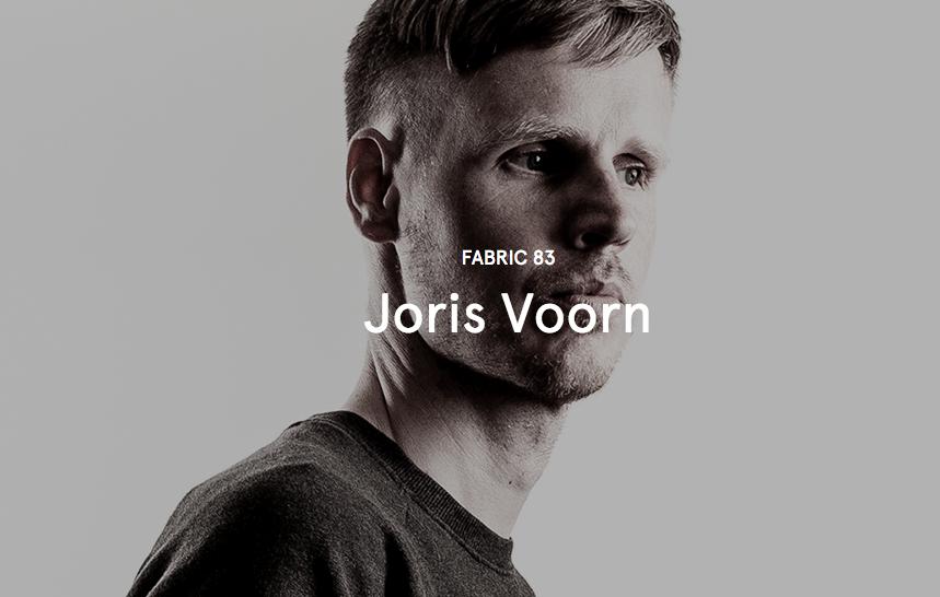 """Joris Voorn mixt """"Fabric 83"""""""